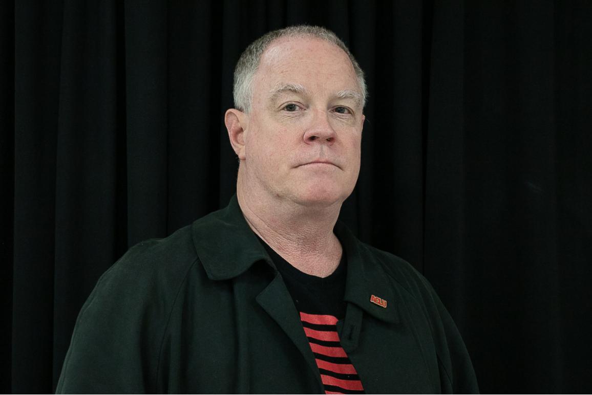 profile picture of Bill Farrar, against a black background.