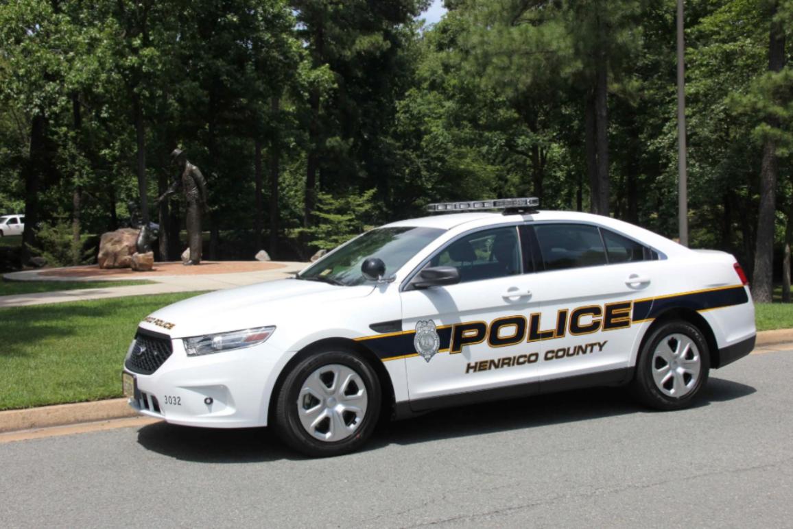 Henrico Police patrol car