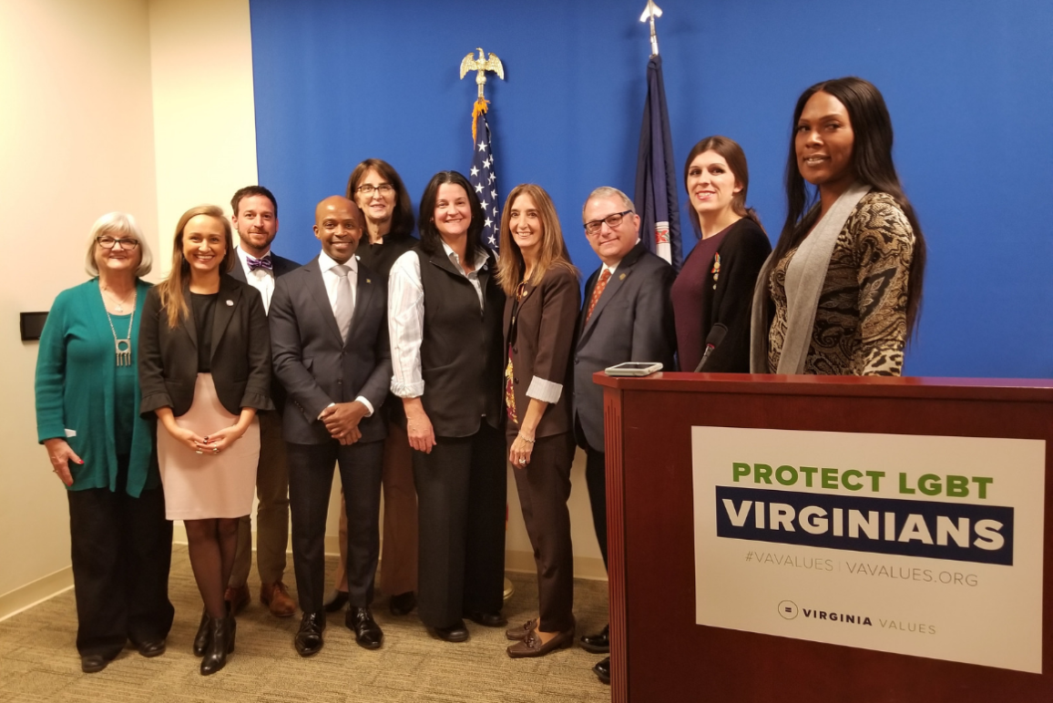 Virginia coalition to pass legislation to protect LGBTQ Virginians