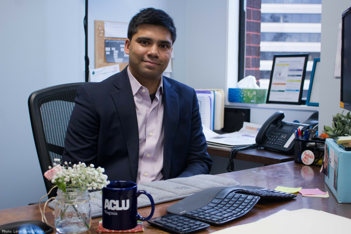 A profile picture of our new staff attorney Vishal Agraharkar